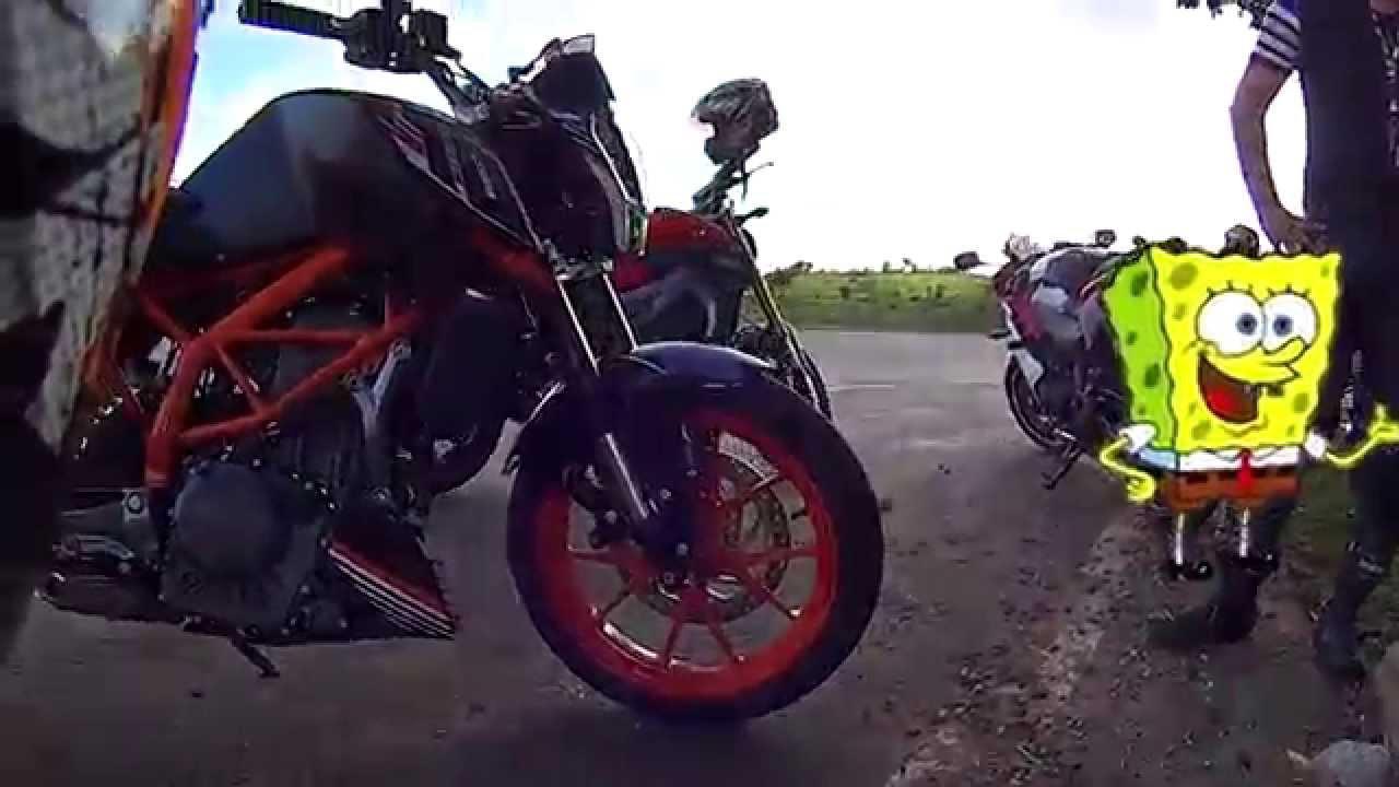 ktm 390 duke test ride, 0 a 100 km/h , top speed / yamaha mt-09