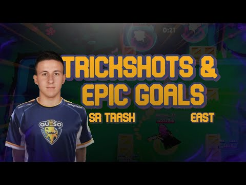 Alós X Sr Trash X East Trick Shots & Epic Goals #2 | Brawl Ball⚽
