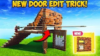 *NEW EDIT TRICK* Shoot Through Doors with Stairs! - Fortnite Funny Fails! #392