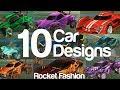 10 Amazing Car Designs on a Budget - Rocket Fashion - EP 1