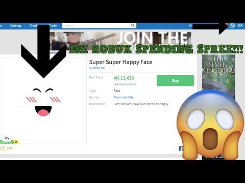 Login To Get 15000 Robux Epic 15k Robux Spending Spree Roblox Youtube