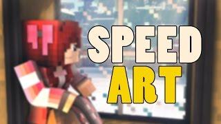 Minecraft Speed Art - Christmas Morning [Cinema 4D]