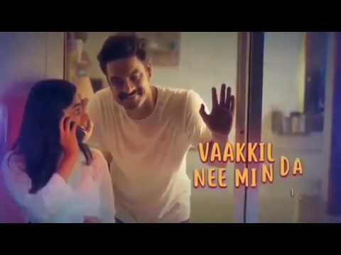 WhatsApp Status - Ashwin Renju Minnunnunde Mullapole Song Tharangam Status Video