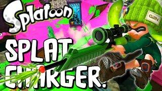 Splatoon - SNIPER TIME! SPLAT CHARGER SNIPING - Splatoon Multiplayer Gameplay (Splatoon Wii U)
