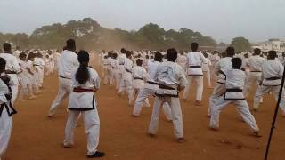 Guinness Book of World Records - Karate A Kata held at Nellore on 8th April-17