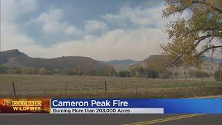 Cameron Peak In Larimer County Fire Surpasses 200,000 Acres
