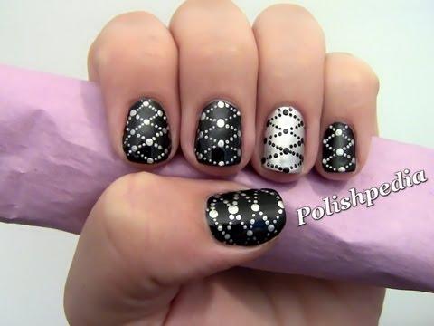 Lattice Nail Art