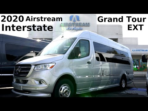 Walkthrough RV Tour of the Brand NEW 2020 Airstream Interstate Grand Tour by Full Time RVers