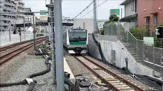 相鉄新横浜線(相鉄・JR直通) JR車両乗り入れ試運転