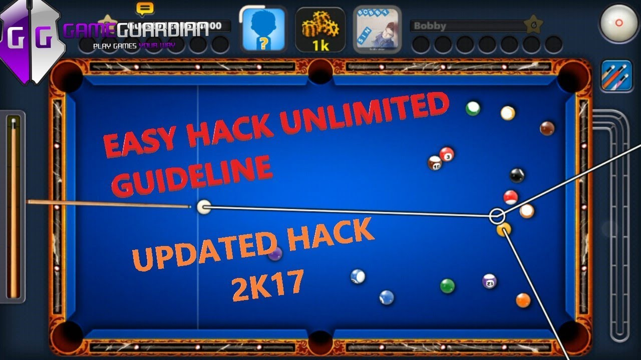 8 BALL POOL UNLIMITED GUIDELINE HACK 2017 (WITHOUT XMODGAMES)
