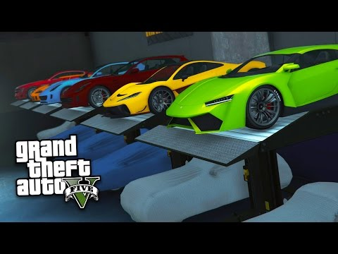 GTA 5 IMPORT/EXPORT DLC - EXPORTING RARE NEW SUPERCARS & MAKING MONEY!! (GTA 5 Import/Export Update)