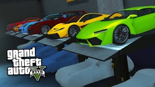 GTA 5 IMPORT/EXPORT DLC - EXPORTING RARE NEW SUPERCARS & MAKING MONEY!! (GTA 5 Import/Export Update) thumbnail