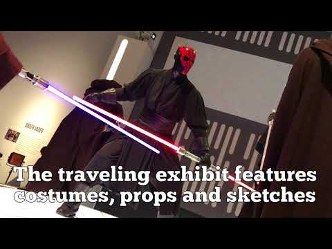 Costumes From A Galaxy Far, Far Away On View In St. Petersburg