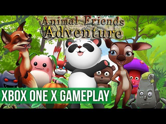 Animal Friends Adventure - Gameplay (Xbox One X) HD