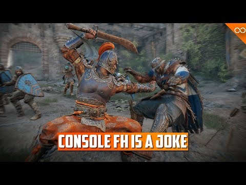 Console For Honor Feels Like an Afterthought
