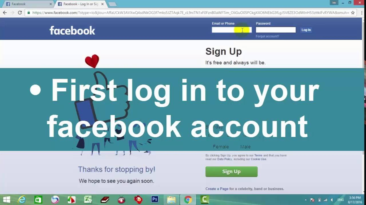 How to delete facebook account easy and fast youtube how to delete facebook account easy and fast ccuart Images