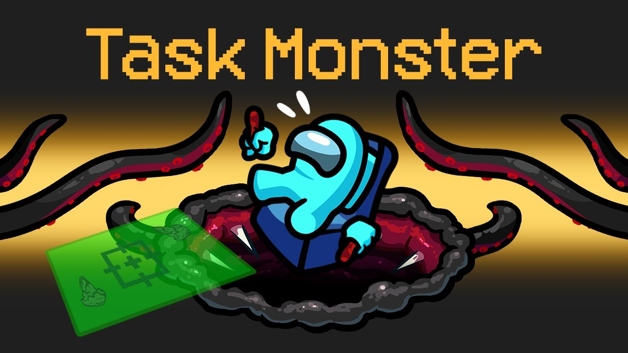 Among Us: TASK MONSTER imposter in Among Us