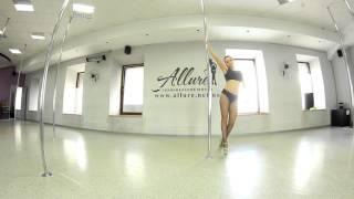 Exotic Pole Dance  Постановка шага дефиле и танцевальная связка