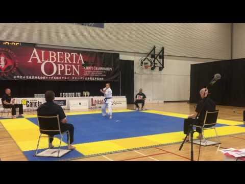 Alberta Open 2017 Kata