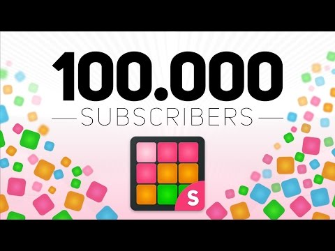 100.000 subscribers - THANK YOU SO MUCH!!!