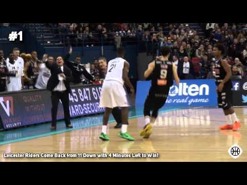 Leicester Riders' Incredible Comeback Vs Newcastle Eagles - BBL Cup Final 2014 Top 5 Plays!