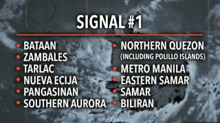 Catanduanes under signal no 3 as #GlendaPH strengthens