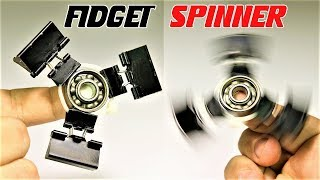 How To Make A  Fidget Spinner With Binder Clips