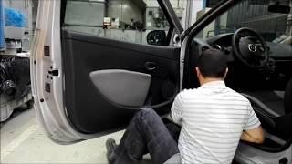 Tuto démontage habillage porte Renault Clio 3/disassembly door Renault clio 3