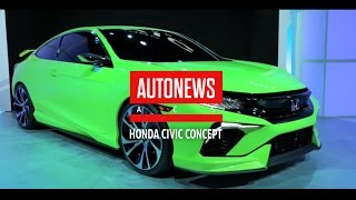 видео Представлен обновленный Honda Civic