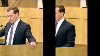 Отчет Медведева за 2 минуты. Смех сквозь слезы