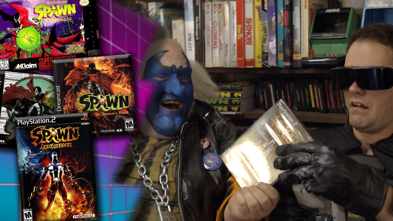 Spawn Games - Angry Video Game Nerd (AVGN) + vídeo