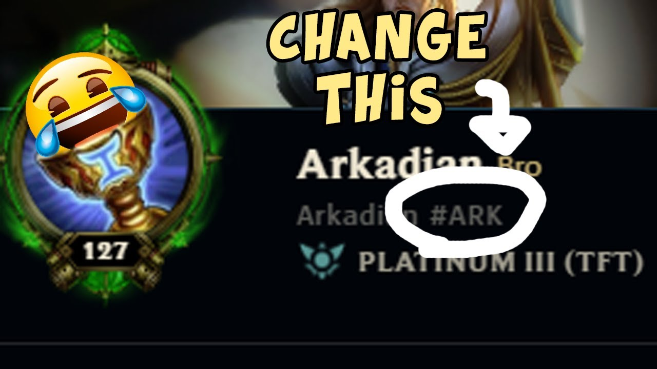 League Quick Tips Change Your Riot Id Hashtag Youtube