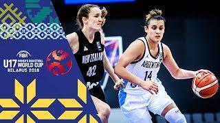 Argentina v New Zealand - Full Game - FIBA U17 Women's Basketball World Cup 2018