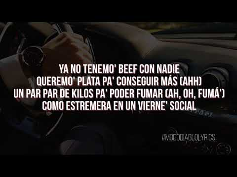 Duki ft Dicc • FERRARI • (LETRA // LYRICS ) • HQ