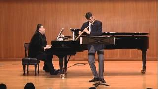 Poulenc Flute Sonata - II. Cantilena - Davide Formisano
