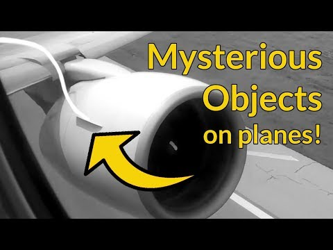 MYSTERIOUS OBJECTS on Planes - Nacelle Strakes by Captain Joe