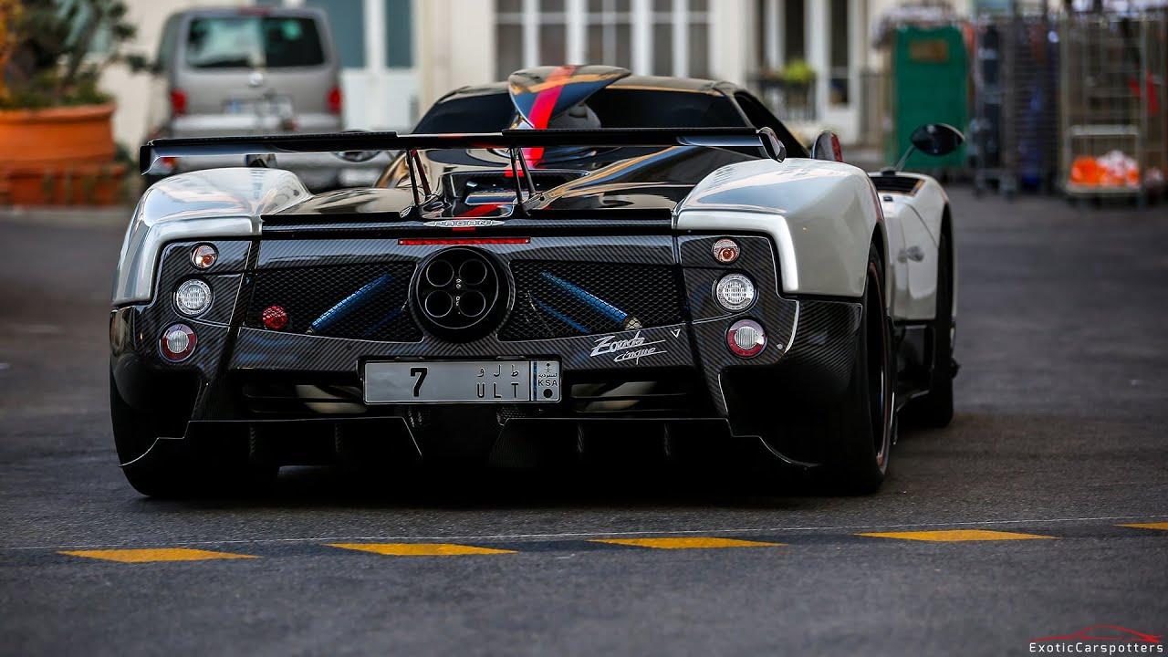 Arab Supercar Invasion In Cannes And Monaco Zonda Cinque