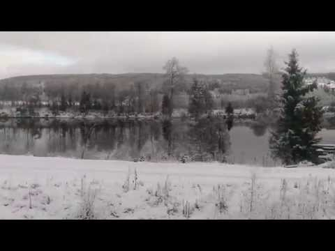 Norway train ride from Tynset to Hamar