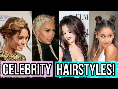 Celebrity-Inspired Hairstyles You Need To Try!