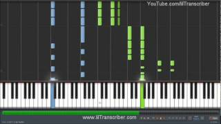 lmfao party rock anthem piano cover by littletranscriber