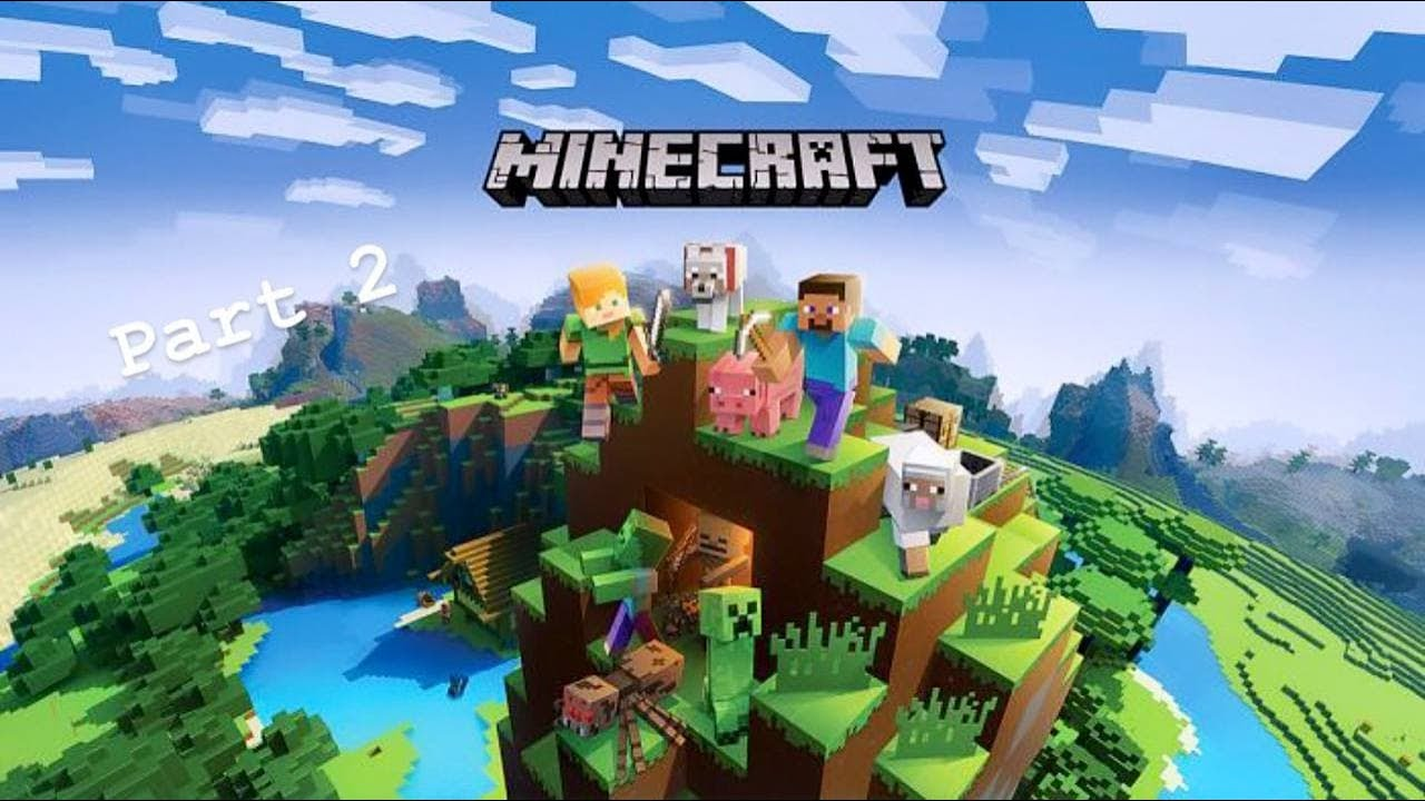 Minecraft gameplay part 2 almost finished the game #ps4#minecraft#gaming