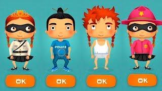 - Мультики про полицию ПОГОНЯ за воришкой Игровой мультфильм для детей Игры про машинки малышерин