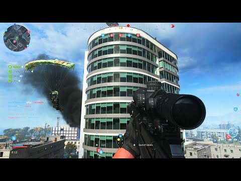 Tower vs Tower Sniping - Modern Warfare Multiplayer Gameplay