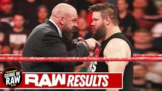Who Will Jump Ship To NXT? | WWE Raw 11/18/19 Review & Full Results | Going In Raw Podcast