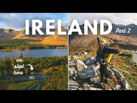 Vanlife Ireland | Geological Wonders & Hikes | Wild Atlantic Way Part 2