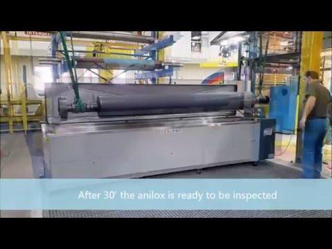 Anilox and Gravure Cylinder washing unit - Ultrasonic Based - Model LRC 35 Plus