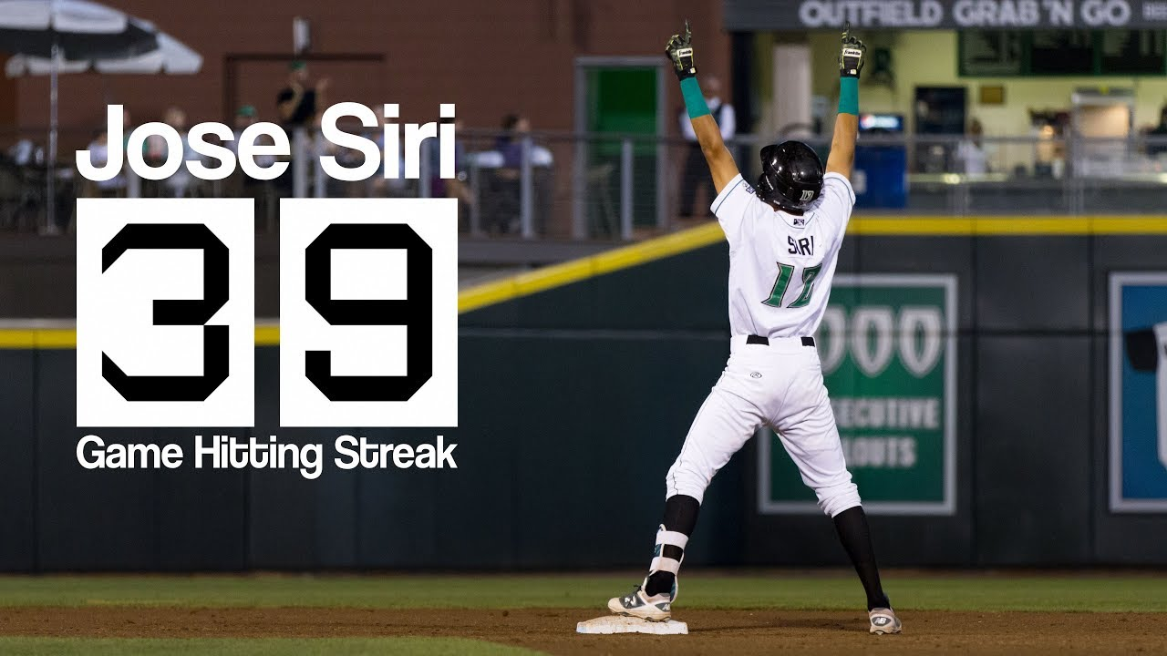 Reds Jose Siri extends hit streak to 39 games for the ...
