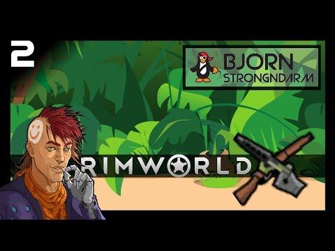 Jungle RimWorld #2: Need Better Defenses! Randy Random RimWorld Alpha 15 Gameplay