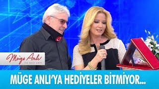Polis Medya Gazetesi'nden Müge Anlı'ya hediye - Müge Anlı ile Tatlı Sert  19 Aralık 2018