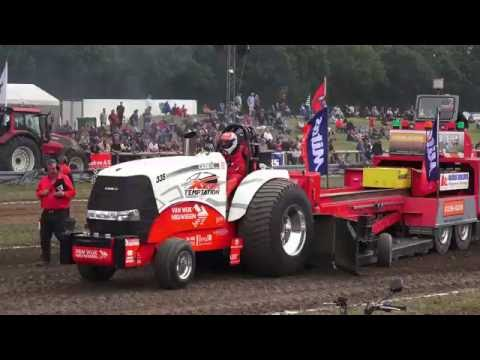 Pro Stock @ Brande DK Euro Cup 2016 Tractor Pulling